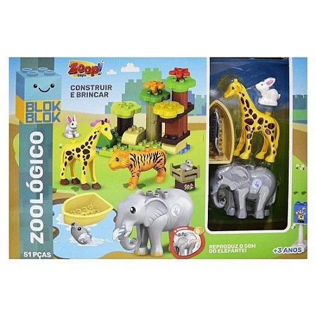 Blocos de Montar BlokBlok Zoologico - Zoop Toys