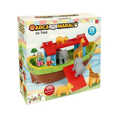 Arca de Noé 22 peças - Maral