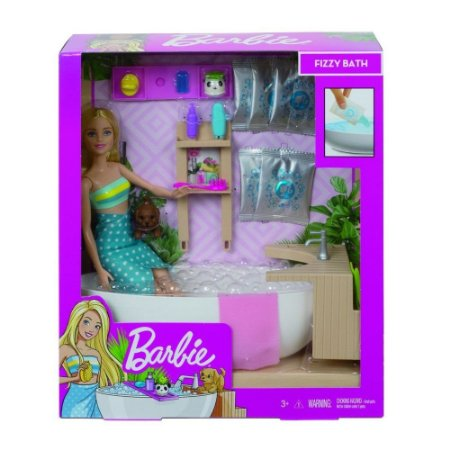 Barbie Banho de Espumas - Mattel