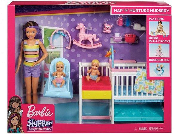 Barbie Skipper Escola de Bebês com acessórios - Mattel