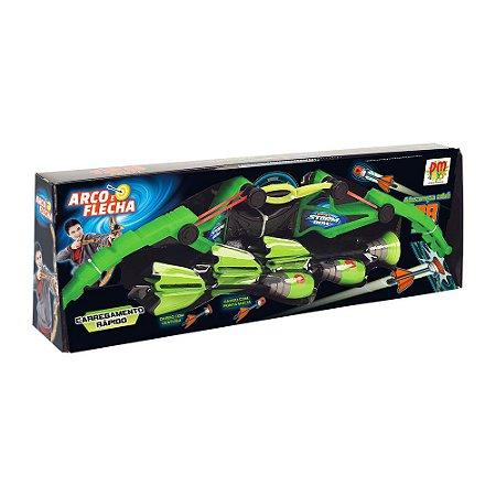 Arco e Flecha 3 Dardos- Dm Toys