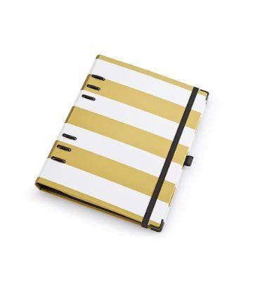 Planner Gold Argolado - Tamanho A5 - Ótima Gráfica
