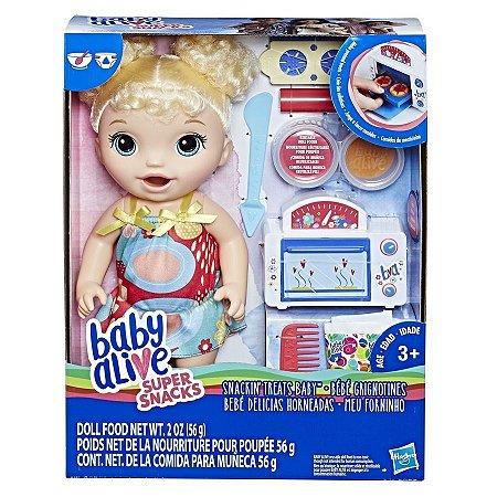 Boneca Baby Alive - Meu Forninho - Loira - Hasbro