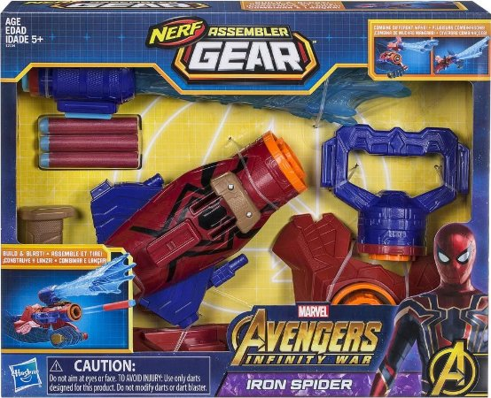 Nerf Assembler Gear Avengers - Iron Spider - Hasbro