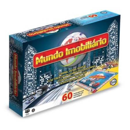 Jogo Mundo Imobiliário - Brinquedos Toia