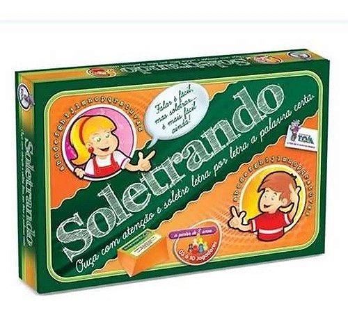 Jogo Soletrando - Brinquedos Toia