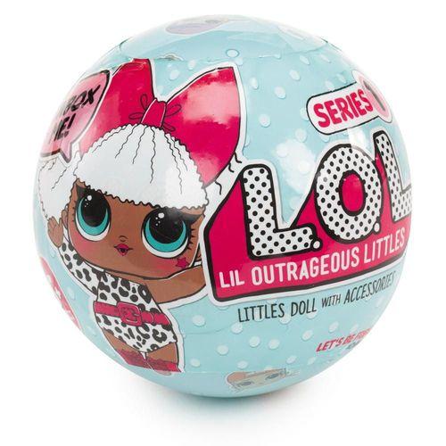 Boneca LOL Surprise - Lil Outrageous Littles - Série 1 - Candide