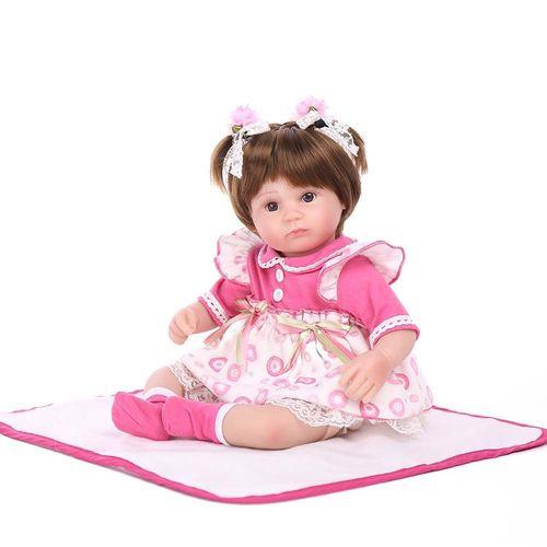 Bebê Reborn Laura Baby - Charlotte - Shiny Toys