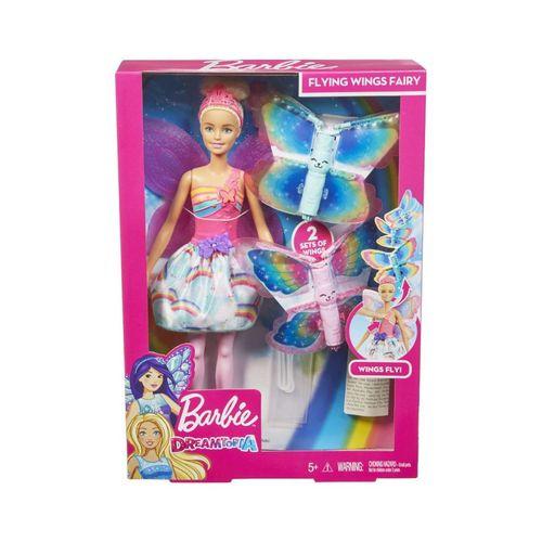 Boneca Barbie - Fada Asas Voadoras - Mattel