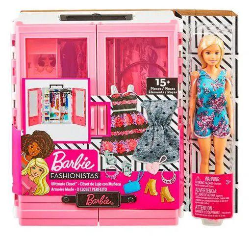 Boneca Barbie - Fashionistas - O Closet Perfeito - Mattel