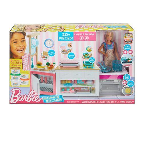 Boneca Barbie - Cozinha de Luxo - Mattel