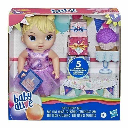 Boneca Baby Alive - Festa de Presentes - Loira - Hasbro
