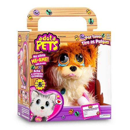 Pelúcia Adota Pets - Lulu com Acessórios - Multikids