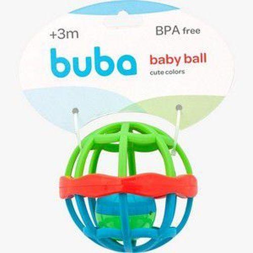 Chocalho Baby Ball - Cute Colors - Buba