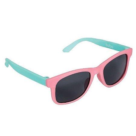 Óculos De Sol Infantil - Inquebrável - Rosa - Buba