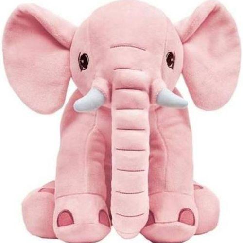 Pelúcia Elefantinho - Rosa - Buba