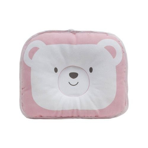 Travesseiro Anatômico para Bebê - Rosa - Buba