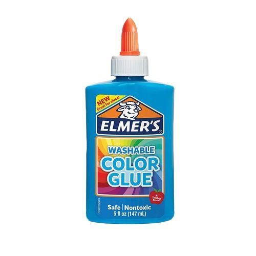 Cola Colorida Elmers - Azul - 147ml - Toyng