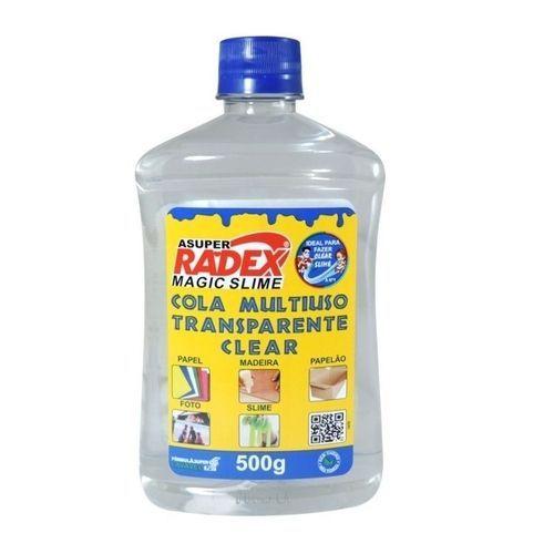 Cola Transparente - Multiuso - Magic Slime - 500g - Radex