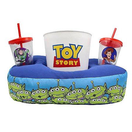 Kit Almofada Porta Pipoca - Toy Story - Zona Criativa