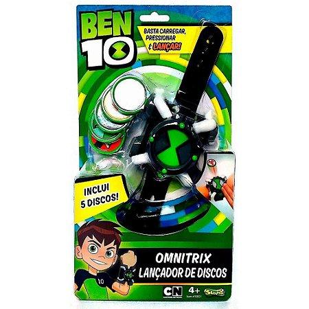 Relógio Omnitrix Lançador De Discos - Ben 10 - Sunny