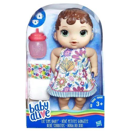 Boneca Baby Alive - Hora do Xixi - Morena - Hasbro