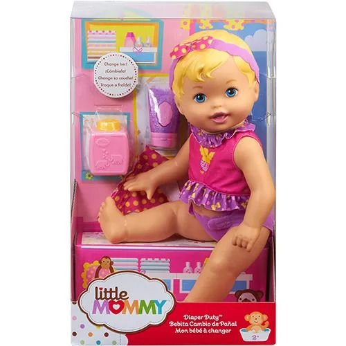 Boneca Little Mommy - Momentos do Bebê - Mattel
