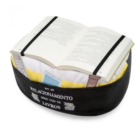 Almofada Porta Livro - Planos - Ludi