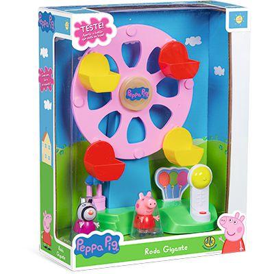 Roda Gigante - Peppa Pig - com Som e Movimento - DTC