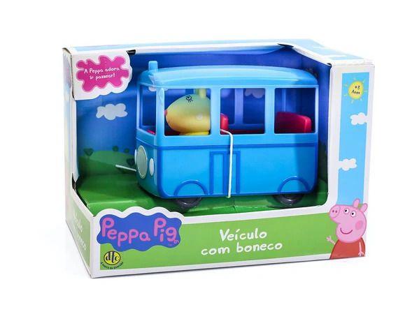 Ônibus Escolar - Peppa Pig - DTC