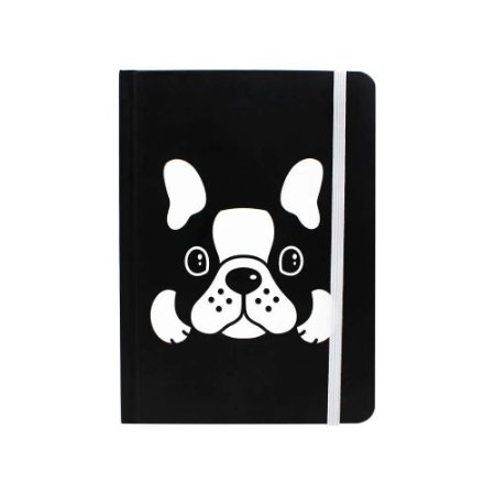 Caderno de Anotações - Bulldog - Zona Criativa