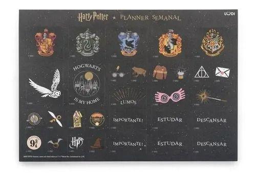 Planner Semanal - Harry Potter - Ludi