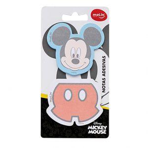 Bloco Adesivo -  Post It - Mickey Mouse - Molin