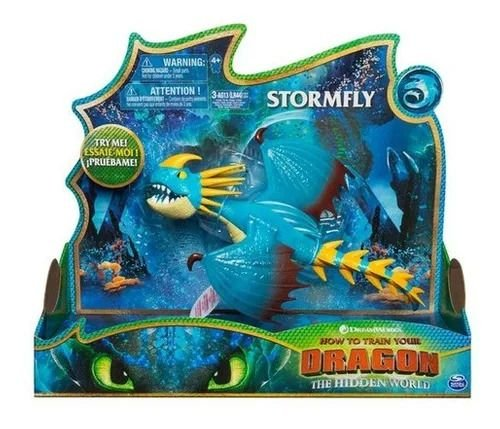 Boneco Deluxe - Como Treinar o seu Dragão - Stormfly - Sunny