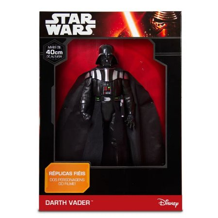 Boneco Darth Vader - 40cm - Disney Star Wars - Mimo Brinquedos
