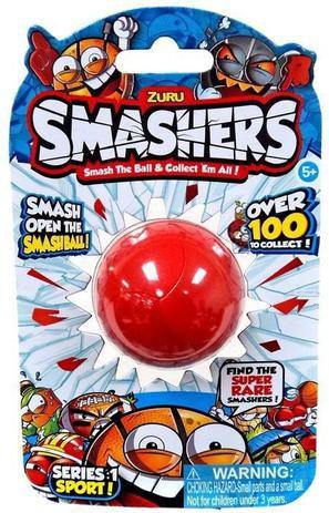 Smashers Série 1 Sports - 1 Surpresa - Candide
