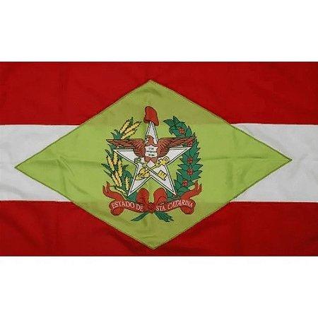 Bandeira Oficial - Santa Catarina - 90x128cm - Bandeiras Blumenau