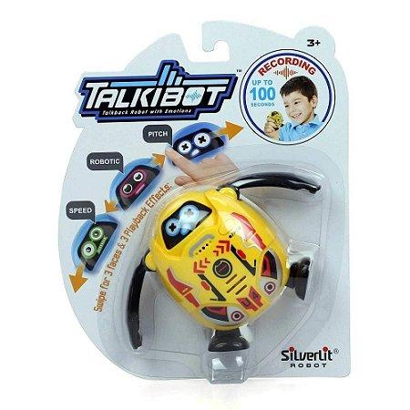 Talkibot Silverlit - Robô Grava Repete Modula Voz - DTC