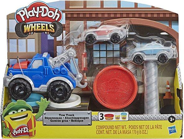 Conjunto Massa de Modelar - Play-Doh Wheels - Reboque - Hasbro