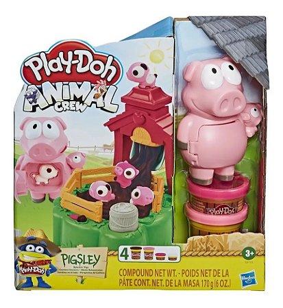 Conjunto Massa de Modelar - Play-Doh Animal Crew - Pigsley - Hasbro