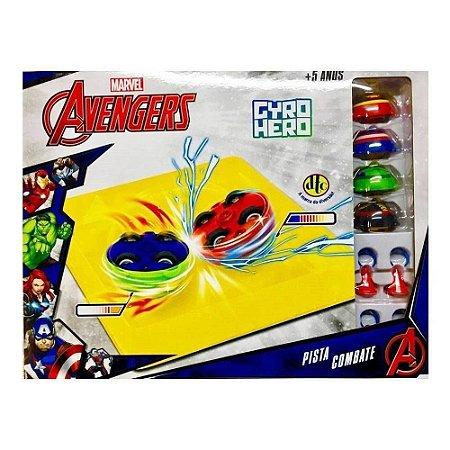 Gyro Hero - Pista Combate - Marvel Avengers - DTC