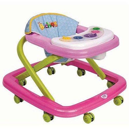 Andador Magic Baby - Rosa - Magic Toys