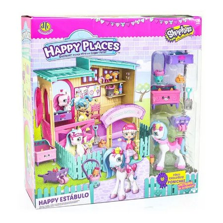 Happy Estábulo Shopkins - Happy Places - DTC