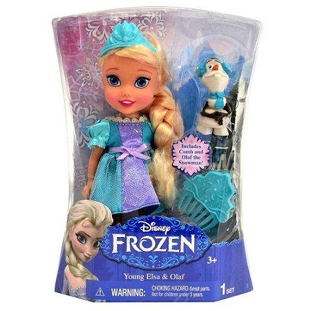 Boneca Elsa -  15 cm - Frozen - Sunny