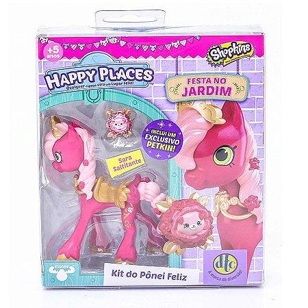 Shopkins Happy Places - Kit Do Pônei Feliz - Sara Saltitante - DTC