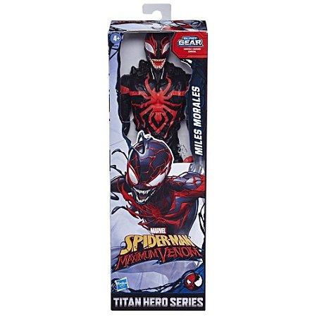 Boneco Homem Aranha Maximum Venom - Miles-Morales - Hasbro