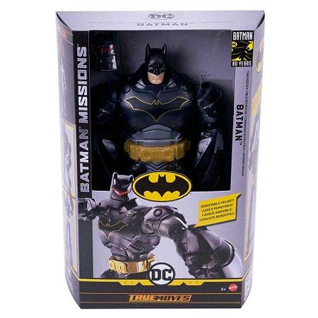 Boneco Batman Missions Gigante True Moves - Mattel