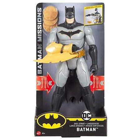 Boneco Batman Missions - Lança Discos - DC Comics - Mattel