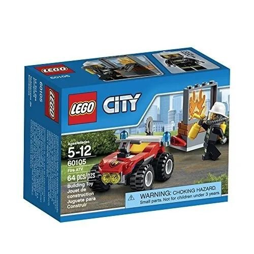 Lego City - Veículo Off-Road de Combate ao Fogo - LEGO
