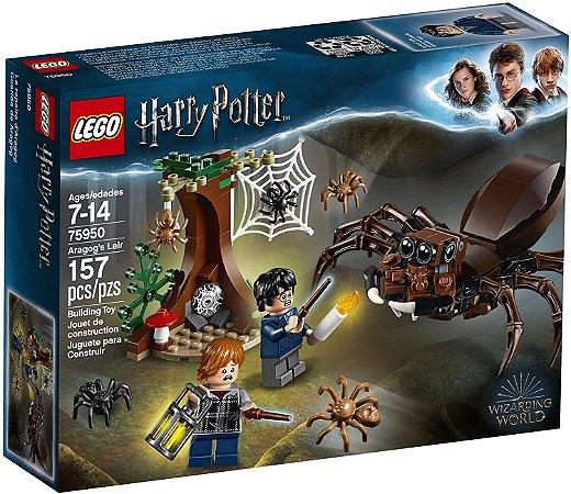 Lego Harry Potter - O Covil de Aragogue - LEGO